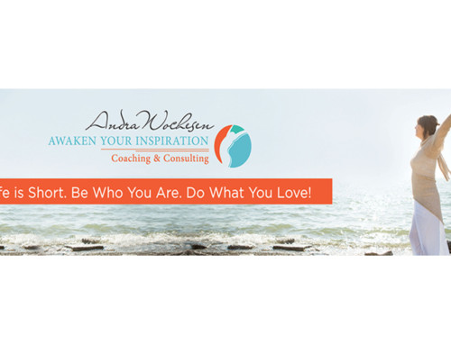 Awaken Your Inspiration Web Banner Design