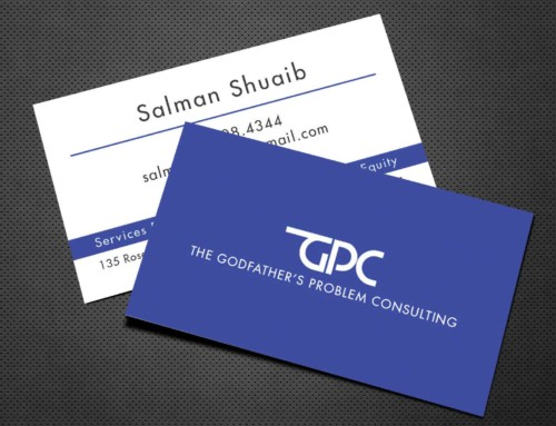 The Godfathers Problem Consulting BusinessCard Design