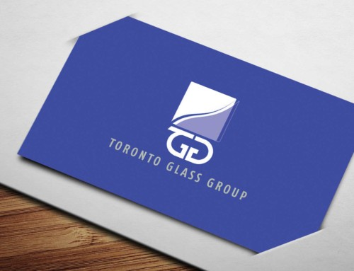 Toronto Glass Group BusinessCard Design