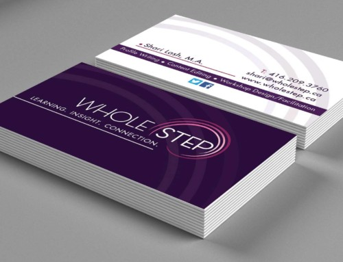 Whole Step BusinessCard Design