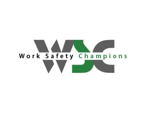 Work Safety Champions Logo Design